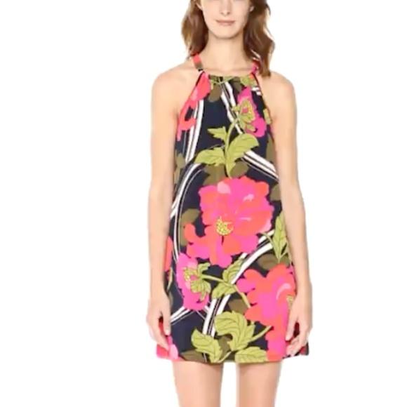 ccac9ee3490 Trina Trina Turk Juju Halter Dress S. M 5b9fed1604e33d8fb6ee9db5